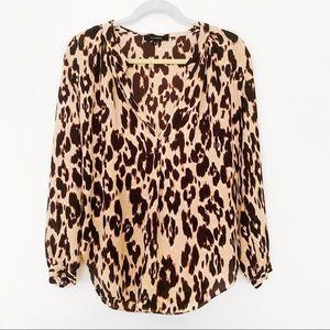 Olivaceous | Leopard Blouse